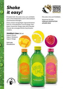 Flyer für Kloster Kitchen Organic-Power-Drinks